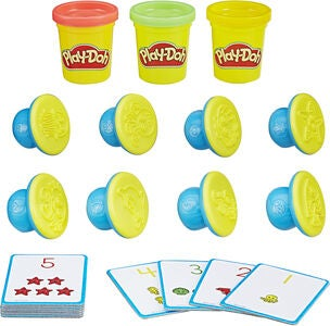 Play-Doh Shape And Learn Tal & Regning