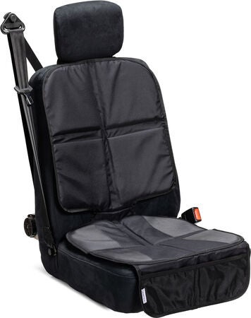 Cybex Solution X2-Fix Silver Line & Sædebeskyttelse Lux, Pure Black