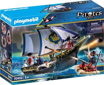 Playmobil 70412 Soldaterskib