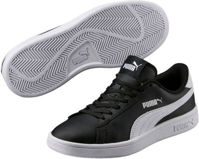 Puma Smash sneaker black white