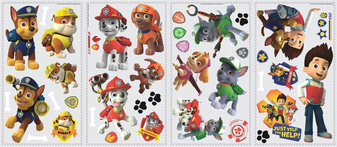RoomMates Wallsticker Paw Patrol