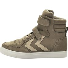 8077cc24979 Hummel Stadil Oiled High Jr Sneakers, Taupe/Grey