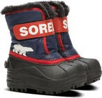 Sorel Children's Snow Commander Vinterstøvler, Nocturnal/Sail Red