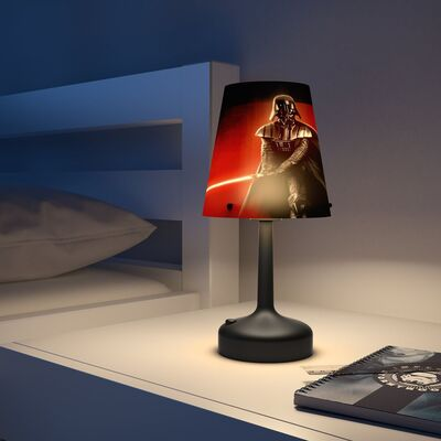 Philips Bordlampe Darth Vader, Sort
