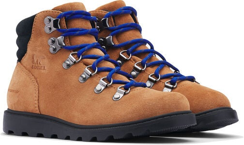 Sorel Youth Madson Hiker WP Støvler, Camel Brown/Black