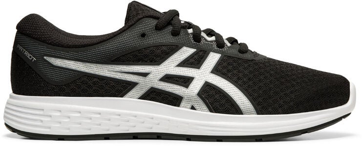 Asics Patriot 11 GS Sneakers, Black/Silver