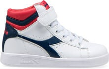 Diadora Game P High PS Sneakers, Blue/Poinsettia