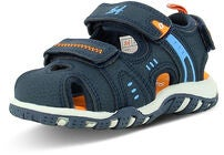 Leaf Runn Sandaler, Navy/Orange