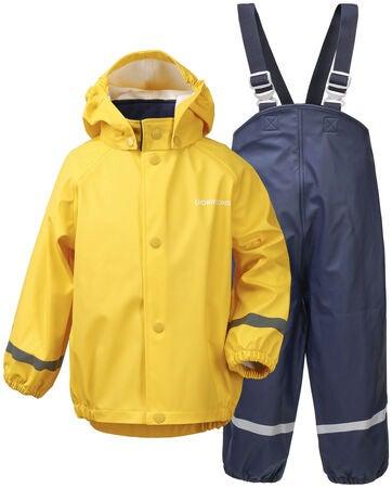 Køb Didriksons Slaskeman Regnsæt, Pollen Yellow | Jollyroom