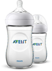 Philips Avent Natural Sutteflaske 260ml inkl. Slow Flow Sutter 2 stk