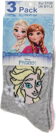 Disney Frozen 3-Pack Strømper, Pack 1