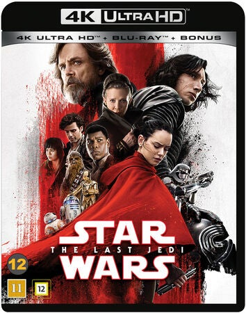 Star Wars The Last Jedi Blu-Ray Ultra HD
