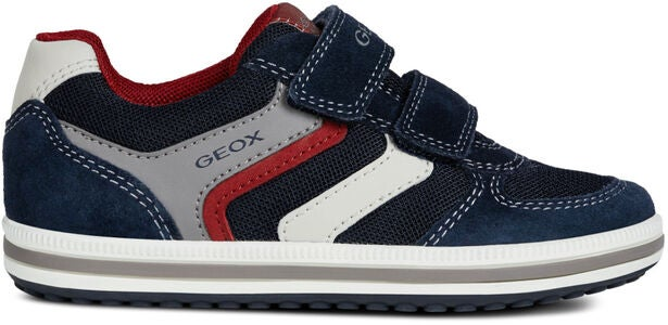 Geox Vita Sneakers, Navy/Red
