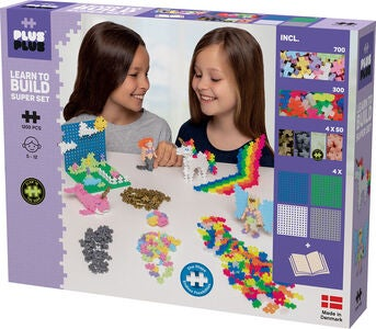 Plus-Plus Learn to Build Super Set Pastel