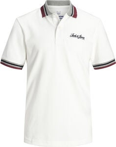 Jack & Jones Dusai Polotrøje, Cloud Dancer