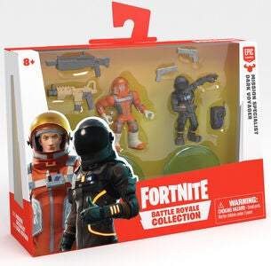 Fortnite Battle Royale W2 Figurer Missn Specialist & Drk Voyager Duo Pack S1