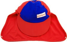 ImseVimse UV-Kasket, Red/Blue