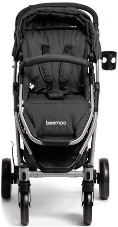 Beemoo Flexi Travel 3 Duovogn, Black Melange