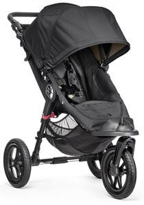 Baby Jogger City Elite Klapvogn, Black