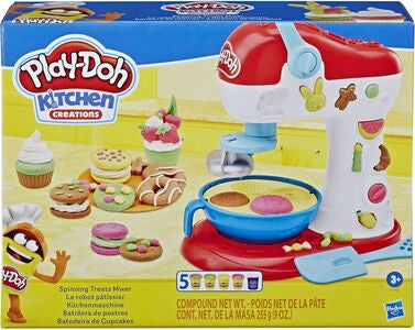 Play-Doh Modellervoks Spinning Treats Mixer