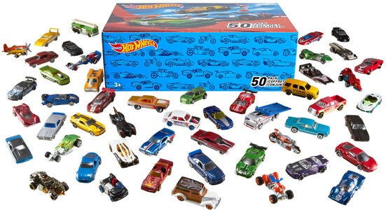 Hot Wheels Bil 50-pak