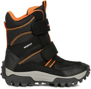 Geox Himalaya WPF Vinterstøvler, Black/Orange