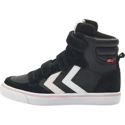 94d73fecd01 Køb Hummel Stadil Leather Jr Sneakers, Black   Jollyroom