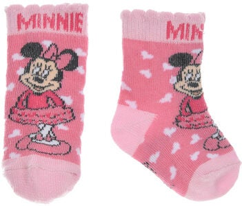 Disney Minnie Mouse Strømper, Dark Pink