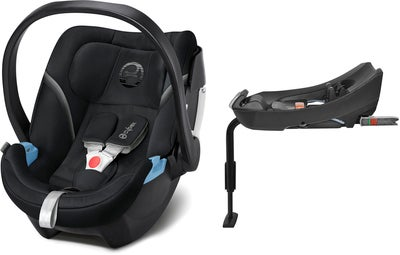 Cybex Aton 5 Inkl. 2-Fix Base, Urban Black