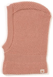 Huttelihut Double Layer Balaclava, Dusty Rose