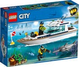 LEGO City Great Vehicles 60221 Dykker-yacht