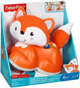 Fisher-Price Core Sit-to-Crawl Learning Fox Kravlelegetøj