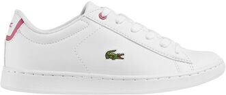 Lacoste Carnaby Evo Sneakers, White/Pink
