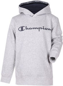 Champion Kids Hættetrøje, Gray Melange Light