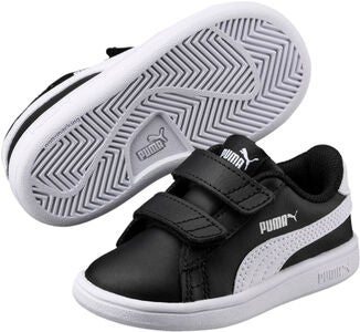 Puma Smash V2 L V PS Sneakers, Black/White