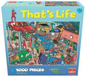 Goliath Games Puslespil That's Life - Garage 1000 Brikker