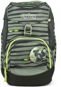 Ergobag Prime Rygsæk Super NinBear 20L, Green Eyes