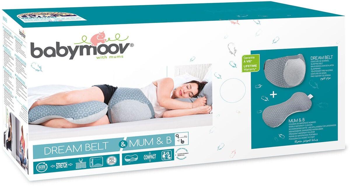 Køb Babymoov Dream Belt og Mum & b Graviditetspude, Grey | Jollyroom