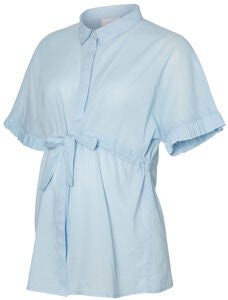 Mamalicious Molina Bluse, Light Blue