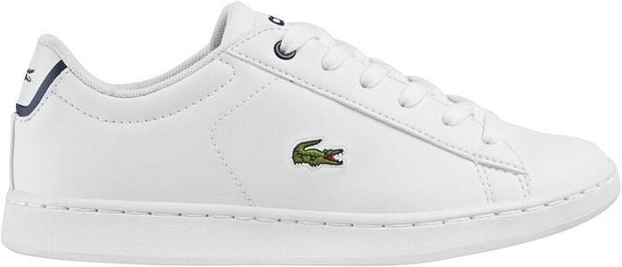 Lacoste Carnaby Evo Sneakers, White/Navy