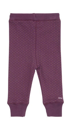 Mini A Ture Leggings Milan B, Blackberry Wine