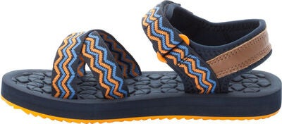 Jack Wolfskin Zulu Sandaler, Blue/Orange