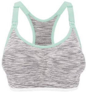 Bravado Rhythm Seamless Amme-BH,  White Grey Spacedye