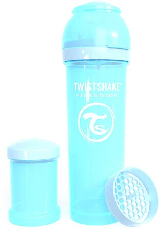 Twistshake 330 ml Anti Colic Sutteflaske, Blå