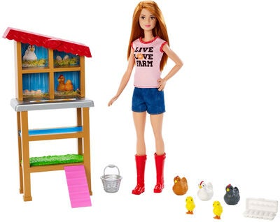 Barbie DukkeChicken Farmer Legesæt