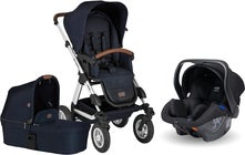 ABC Design Viper 4 Duovogn inkl. Autostol til Baby & Adapter, Shadow