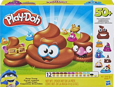 Play-Doh Legeler Poop Troop