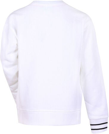 Champion Kids Crewneck Trøje, White
