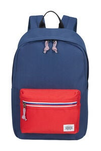 American Tourister Upbeat Zip Rygsæk 19.5L, Navy/Red