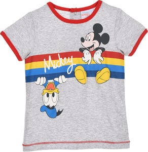 Disney Mickey Mouse T-Shirt, Grey